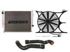 MISHIMOTO BMW E30/E36 Radiator+Shroud+Fan+Hose Kit BLACK