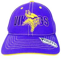 Reebok Team Apparel Youth Mn Vikings Football Baseball Hat Cap Hook And Loop NFL