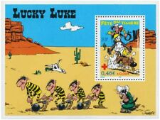 FRANCE 2003, BLOC timbre n° 55, LUCKY LUKE, FETE du TIMBRE, neuf**
