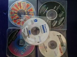 Lot CD Demo Mega CD Sega