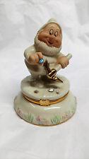 Lenox Treasures Snow White and the Seven Dwarfs HAPPY Treasure Trinket Box