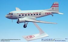 Flight Miniatures TWA Victory is in the  Air DC-3 1/100 Scale Model Plastic