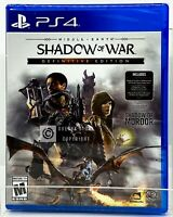 Middle-Earth: Shadow of War - Definitive Edition - PS4 - New | Factory Sealed