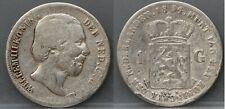 Nederland - The Netherlands : 1 gulden 1854
