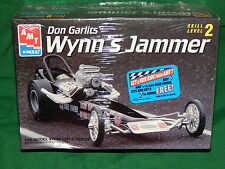 Vintage AMT Don Garlits Wynn's Jammer Front Engine Dragster Model Kit