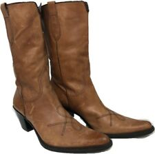 Franco Sarto Leather Western Cowboy Boot Women size 8.5