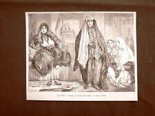 Donne persiane in abito tipico nel 1883 Persia Moda e costume