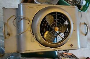 Vintage Vornado Window Box Fan Model B30W1-1  Mid Century Modern MCM
