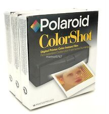 POLAROID COLORSHOT PRINTER FILM!! NEW IN BOX!! THREE PACK!! EXPIRED 10/99!!
