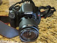 Canon EOS Rebel T3i / EOS 600D 18.0MP Digital SLR Camera - Black (Kit w/ EF-S I…