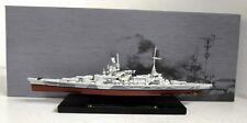 DeAgostini 1/1250 Scale Warship collection Scharnhorst model Ship + Plinth