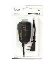 NEW ICOM HM-75LS Remote Control Speaker/Mic for ID-31A ID-31E ID-51A ID-51E