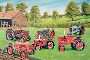 Case Tractor Collection Roy Didwell 1000 piece jigsaw puzzle 690mm x 480mm (jg)