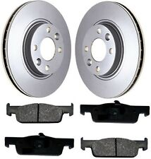 Dacia Logan MCV MK 2 II Front Brake Discs and Pad Set 2013-ON