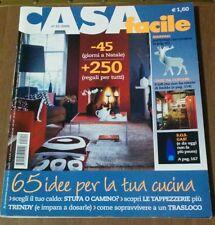 Rivista arredamento ristrutturazione designer CASAfacile n° 12 dicembre 2006