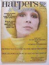 BAZAAR HARPER'S & Queen march 1972 Alex Chatelain Rod Delroy Barry McKinley
