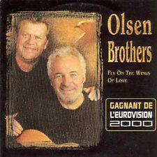 CD Single EUROVISION 2000 Danemark Olsen brothers new F