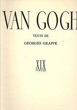 Groupe, vincent van Gogh, coffre-fort de la peinture française, skira GENEVE 1943