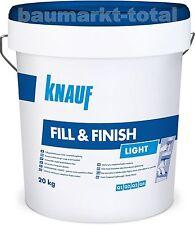Knauf Fill & Finish Light 20kg Spachtelmasse Fertigspachtel
