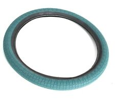 "INNOVA BMX BIKE TYRE 20 X 2.3"" TEAL GREEN WITH BLACK SIDEWALL NEW FREE UK P&P"