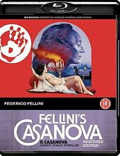 Fellini's Casanova (RESTORED EDITION) - New Blu-Ray