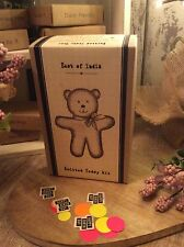 East of India Knit a Teddy Kit Make Your Own Teddy Different Gift Mums Baby Gift