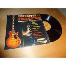 PIERRE FANEN technique de la guitare electrique EX- TRIANGLE / ZOO CEZAME Lp