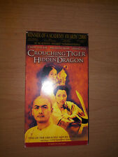 Crouching Tiger, Hidden Dragon (VHS, 2001, English Dubbed)