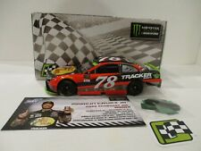 MARTIN TRUEX JR. & PEARN . signed 2017 . BASS PRO .. HOMESTEAD WIN . 1/24 CAR