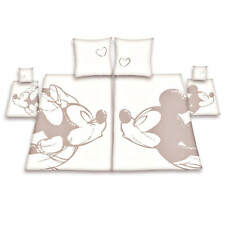 Herding Disney Minnie Mickey Mouse Partner Bed Cover Partnerbettwäsche Bedding