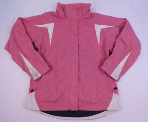 EMS System three Womans Ski Snowboard Winter Jacket Outdoors Pink Medium