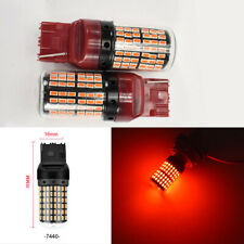 Rear Signal Lights T20 7440 7441 144 Projector Red LED Bulb K1 For Infiniti H