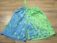 UNDER ARMOUR YOUTH BOYS SHORTS YXS Aqua & Lime Green