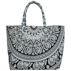 Indian Women's Hippie Mandala Hand Bag Handmade Designer Cotton Handbags Lot