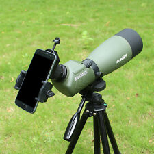 25-75x70mm Waterproof Angled Zoom Spotting Scope with Tripod &Cell Phone Adapter