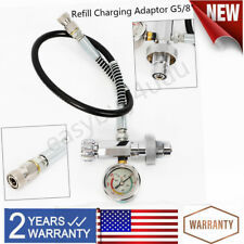 0-4500 Psi G5/8 Scba Fill Station Charging Adapter for Paintball Pcp Air Rifle