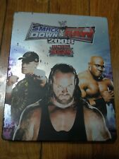 WWE SmackDown vs. Raw 2008 Featuring ECW Steelbook (Sony PlayStation 3, 2007)