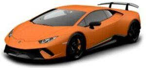 LAMBORGHINI HURACAN PERFORMANTE model road car Orange 1:24th BURAGO 21092O
