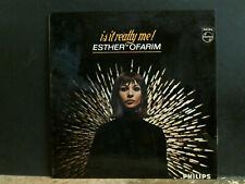 ESTHER OFARIM   Is It Really Me!  LP  1965   Mono  Fem Vox   Folk   Great !
