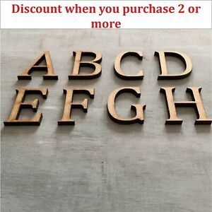Wooden Letters Large Small  2cm-40cm 4mm Thick MDF Craft Extra Large Signs Home