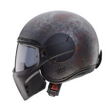 Caberg fantasma Abierta Cara Casco De Moto Moto Streetfighter Rusty