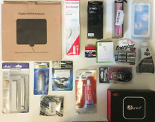 Lot of 16 Home and Garden and Electronic Items, Samsung, Energizer