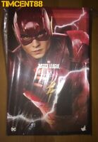 Ready! Hot Toys MMS448 Justice League The Flash Ezra Miller 1/6 Figure New