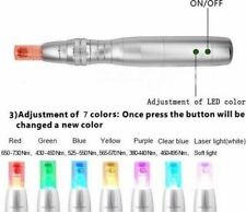 7 Color PDT Light Photon Rechargable Electric Derma roller Pen Hot sale!