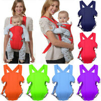 Breathable Ergonomic Infant Baby Carrier Sling Adjustable Rider Backpack US