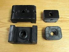 1955 56 57 58 1959 CHEVY TRUCK REAR MOTOR MOUNTS upper & lower cushions set of 4