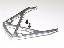 YY-MadMax HPI KM ROVAN BAJA 5T Front Bumper Support Aluminum Silver