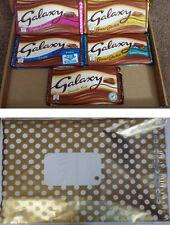 5 Luxury Large Galaxy Chocolate Bars Gift Box Selection Hamper Present