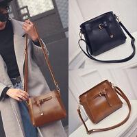 Fashion Women Leather Shoulder Bag Messenger Hobo Satchel Tote Purse Handbag