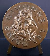 Médaille Ville thermale de Divonne-les-Bains Blason et armes Jura medal